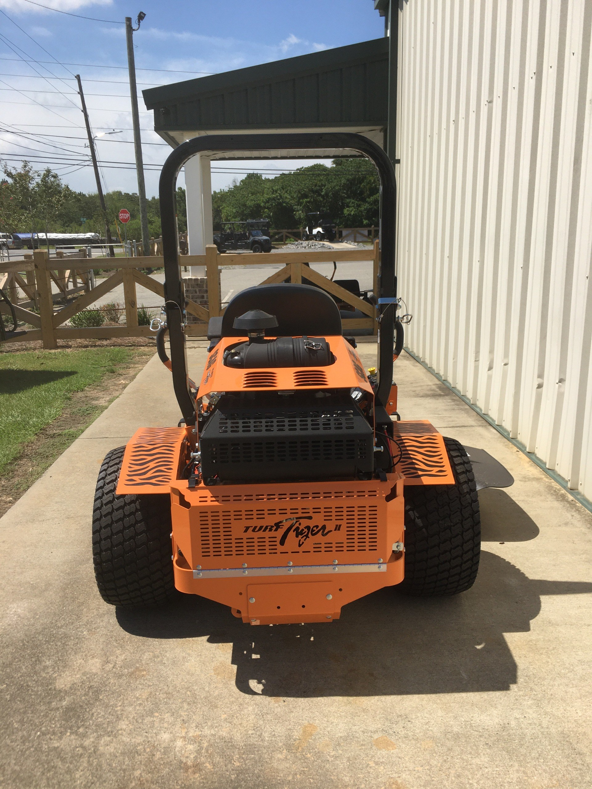 2020 SCAG Power Equipment Turf Tiger II 61 in. Briggs Vanguard EFI 37 hp in Tifton, Georgia - Photo 4