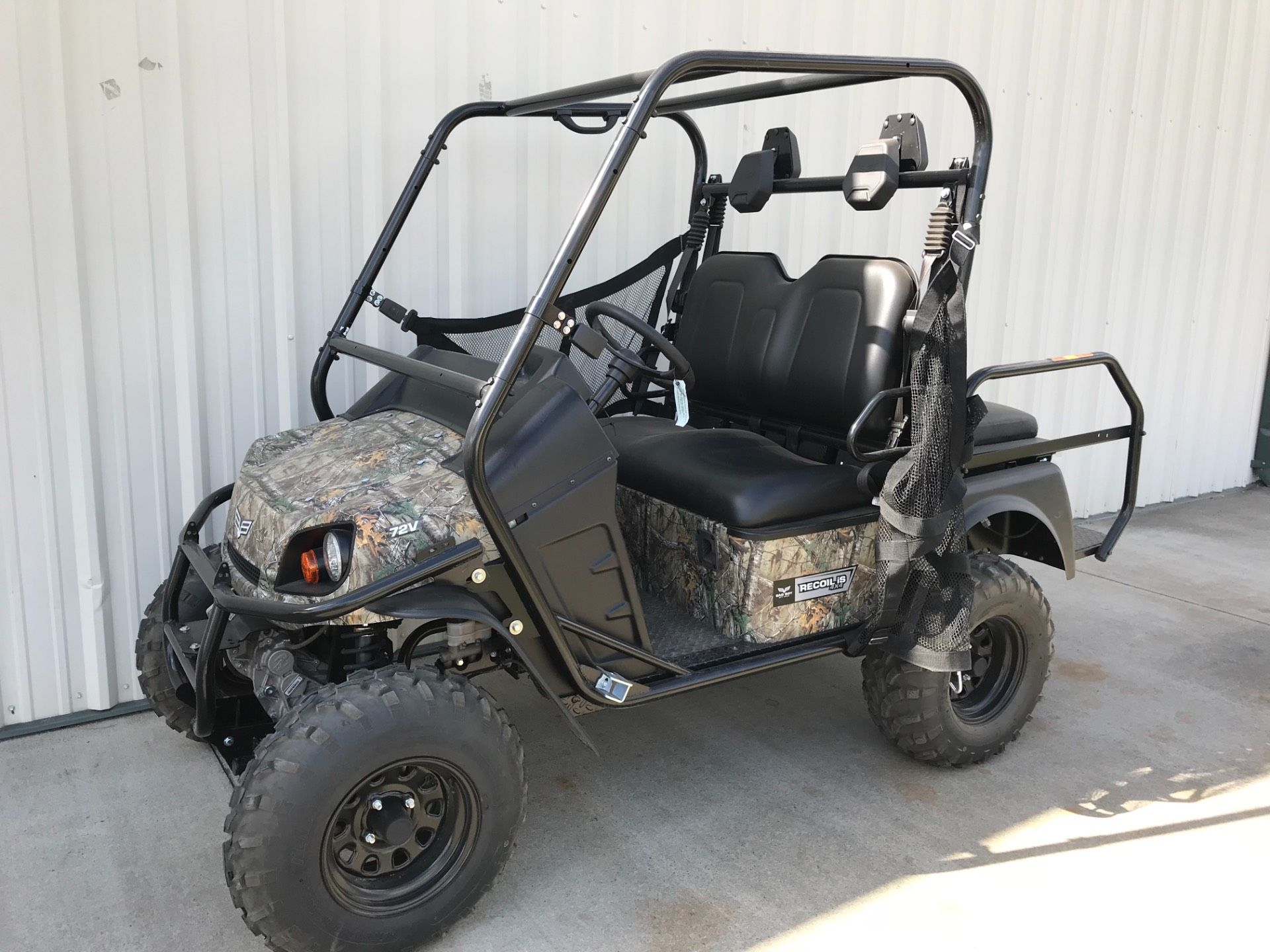 2017 Bad Boy Off Road Recoil iS 2-Passenger Camo in Tifton, Georgia