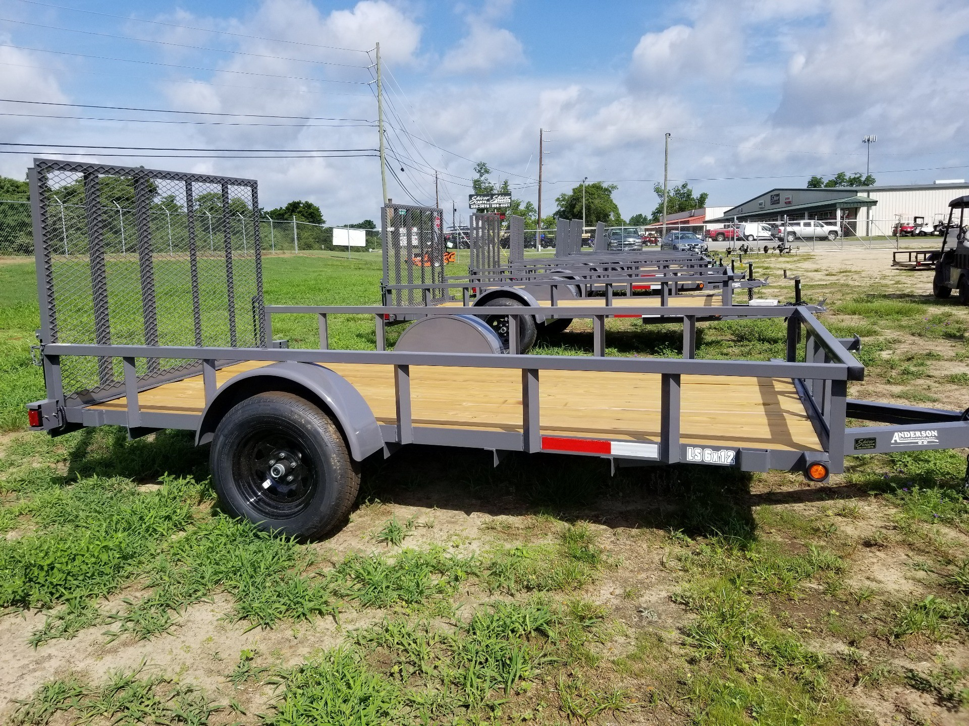 2019 Anderson Trailers 6X12 LANDSCAPE UTILITY WOOD FLOOR in Tifton, Georgia - Photo 1