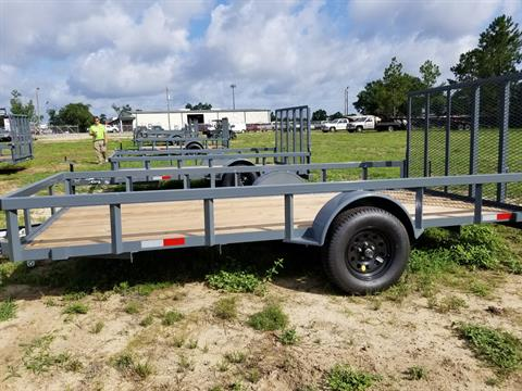 2019 GPS 6X14 WOOD FLOOR GATED TRAILER in Tifton, Georgia