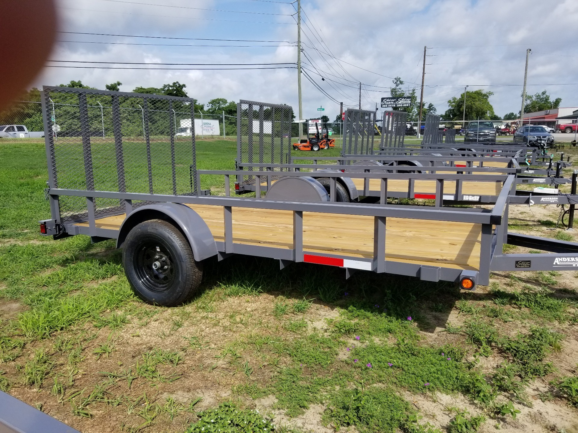 2019 Anderson Trailers 7X12 LANDSCAPE UTILITY WOOD in Tifton, Georgia - Photo 1