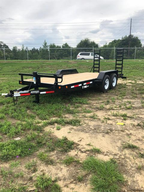2018 Anderson Trailers ANDERSON 7X18 EQUIPMENT SERIES WOOD FLOOR in Tifton, Georgia