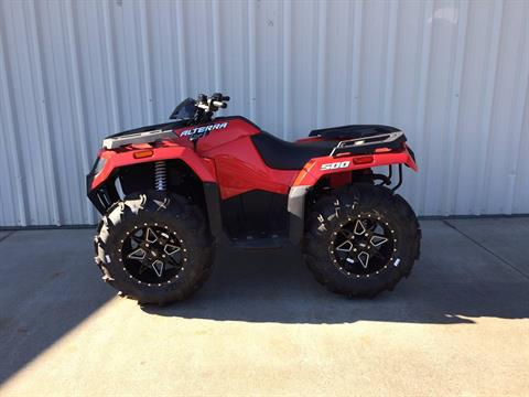 2018 Arctic Cat ALTERRA 500 (Red) in Tifton, Georgia