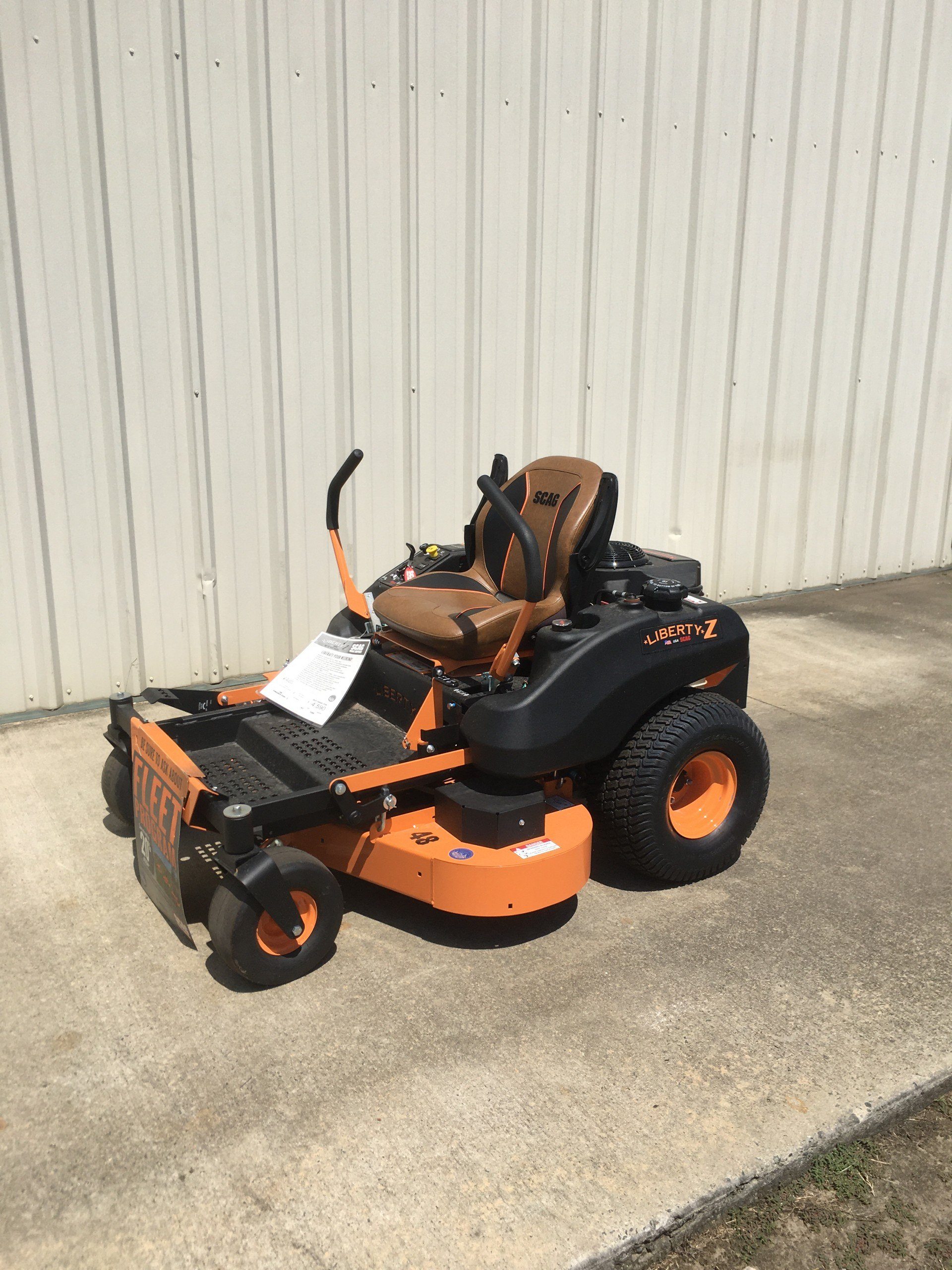 2020 SCAG Power Equipment Liberty Z 48 in. Kawasaki 21 hp in Tifton, Georgia - Photo 1