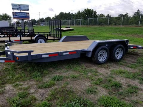 2019 Anderson Trailers 7X20 WOOD CAR HAULER in Tifton, Georgia