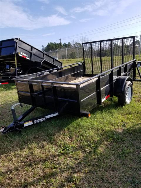 2018 Anderson Trailers 6X10 SOLID SIDE in Tifton, Georgia
