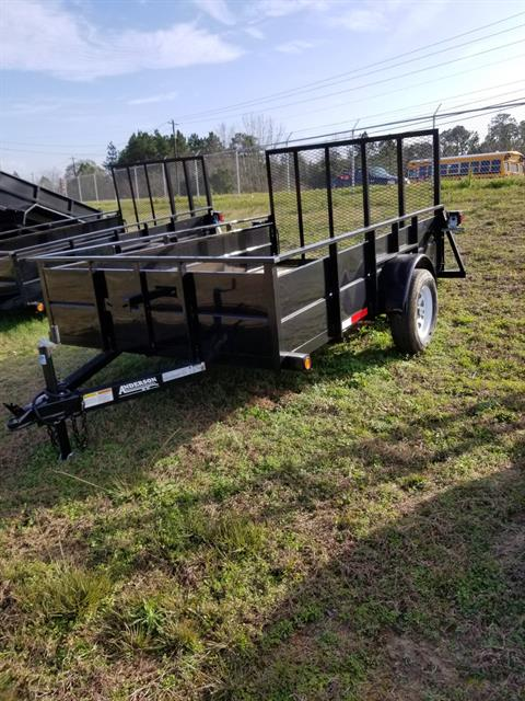 2018 Anderson Trailers 6X10 SOLID SIDE in Tifton, Georgia - Photo 1
