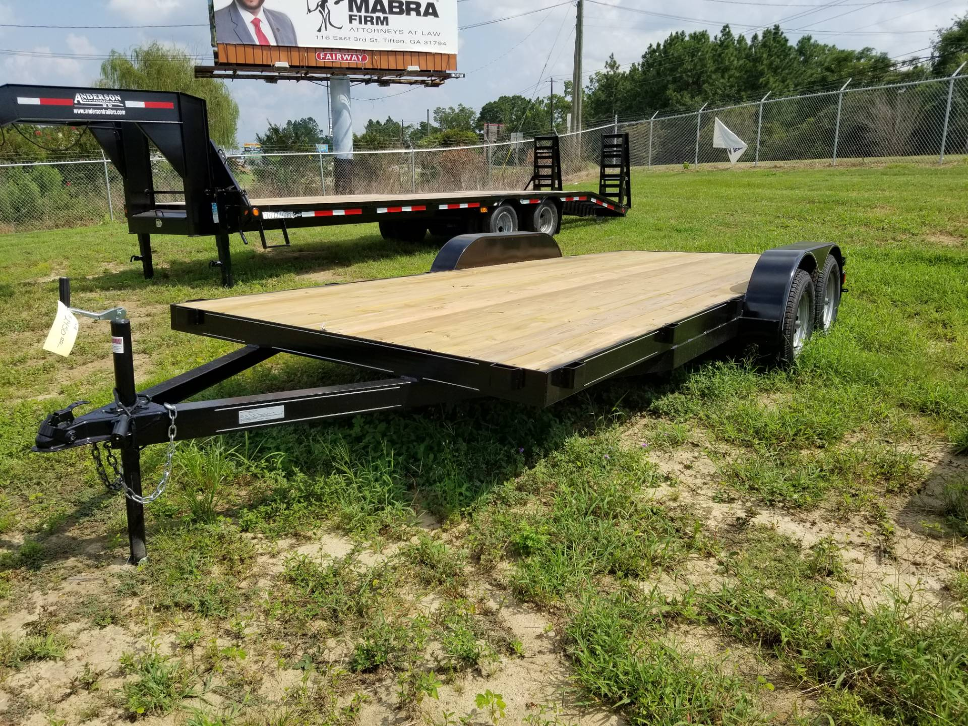 2018 Brewer Implement 2018 Brewer Implement 7x18 Equipment Trailer in Tifton, Georgia