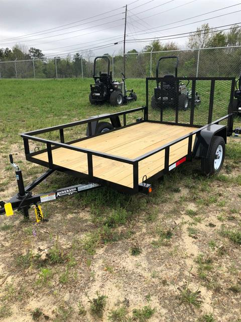 2018 Other ANDERSON 6X10 SINGLE AXLE WOOD FLOOR in Tifton, Georgia