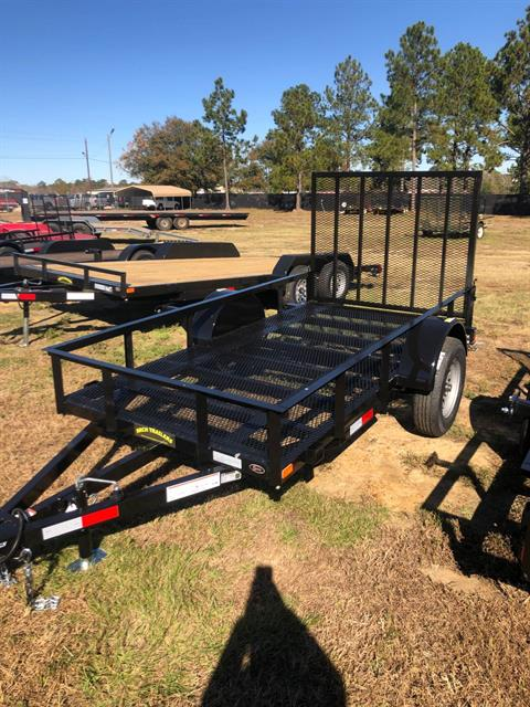 2020 Arch Trailers 5X10 SINGLE AXLE UTILITY TRAILER MESH FLOOR in Tifton, Georgia