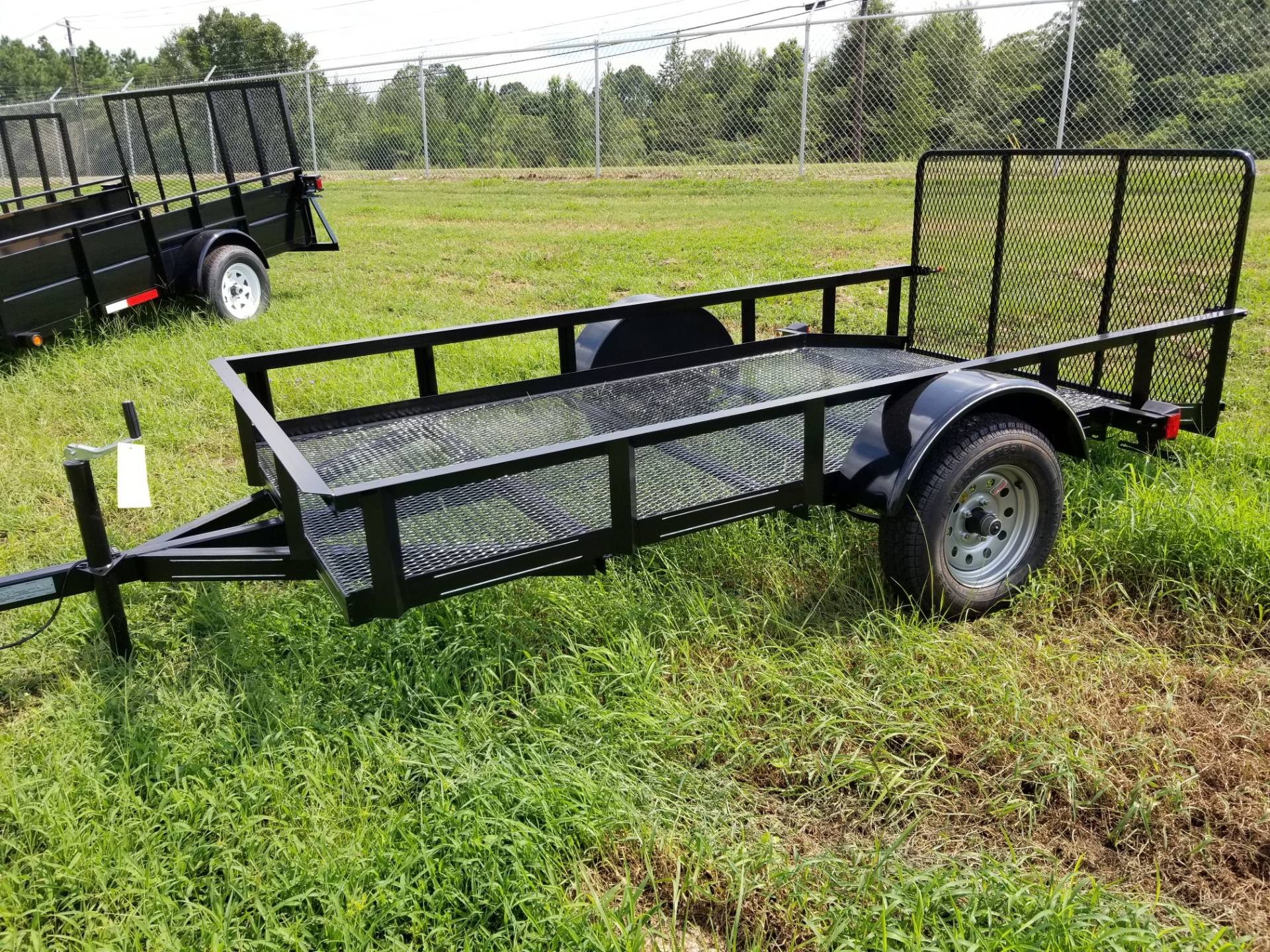 2018 Brewer Implement 2018 Brewer Implement 5x10 Mesh Dove Tail Landscape Utility Trailer in Tifton, Georgia