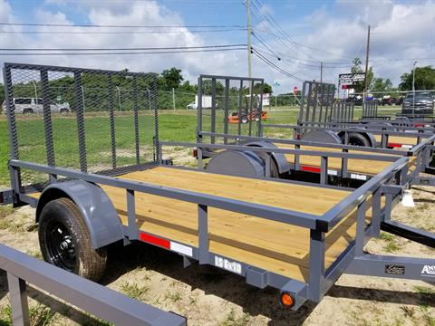 2019 Anderson Trailers 6X10 LANDSCAPE UTILITY WOOD FLOOR in Tifton, Georgia