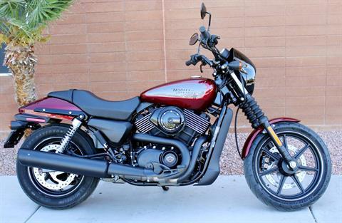 2017 Harley-Davidson Street® 750 in Kingman, Arizona