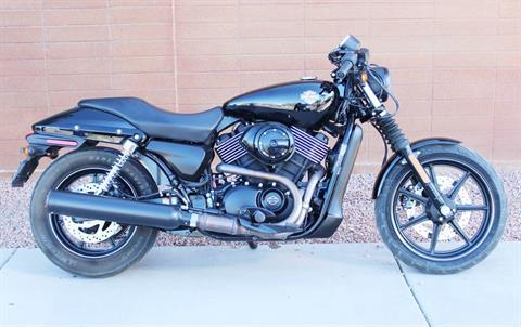 2015 Harley-Davidson Harley-Davidson Street™ 750 in Kingman, Arizona