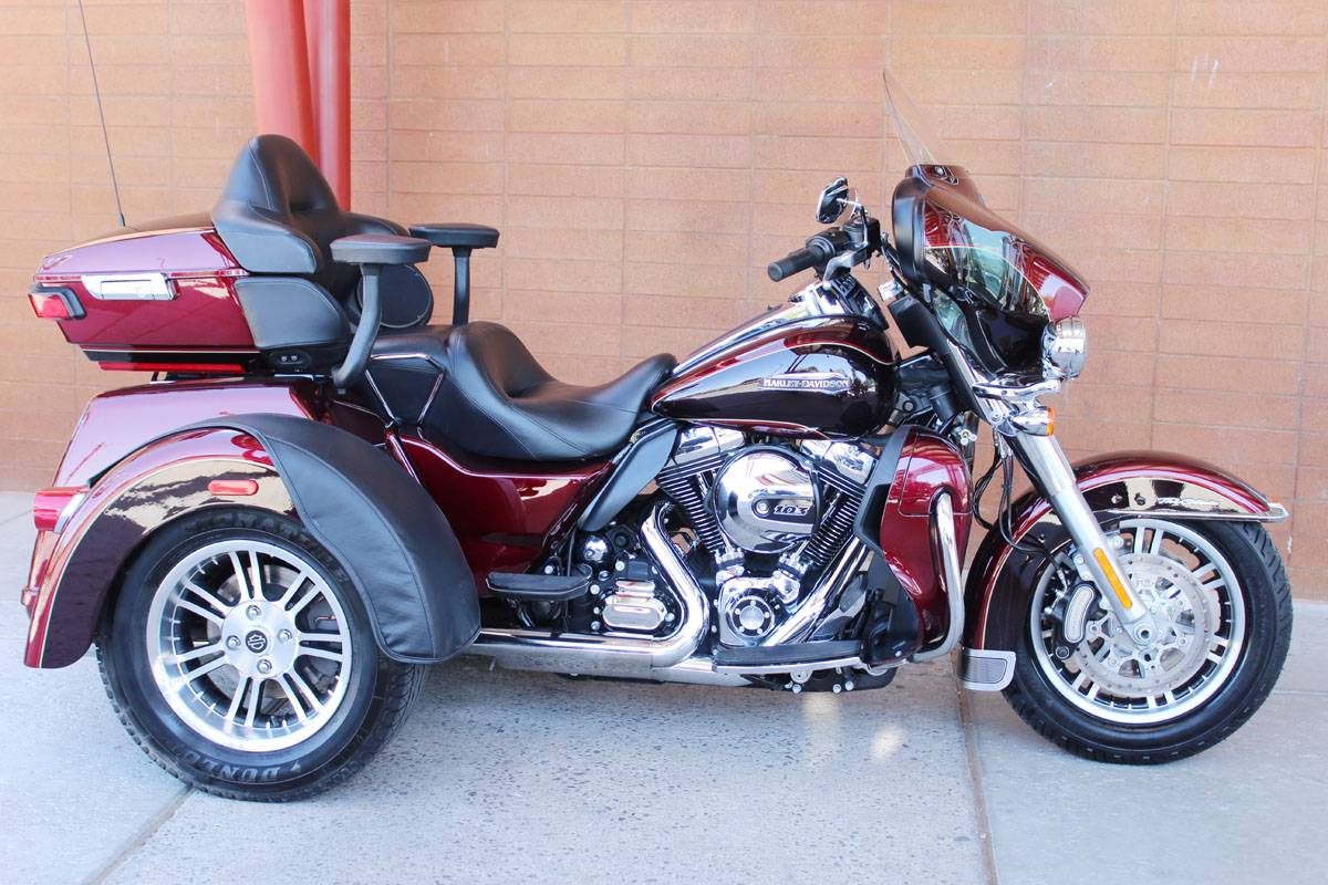 The 2016 Harley Davidson Tri Glide Ultra Provides Three: 2014 Harley-Davidson Tri Glide® Ultra Trikes Kingman