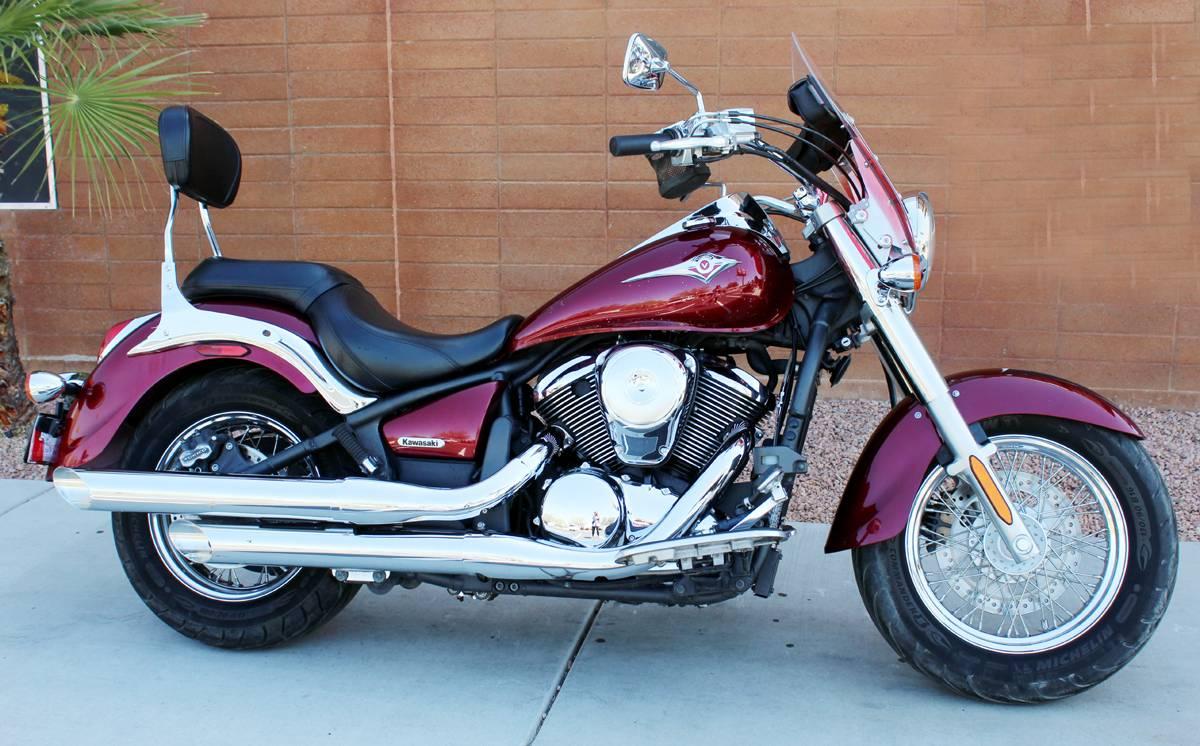 2009 Kawasaki Vulcan® 900 Classic Motorcycles Kingman Arizona U050710