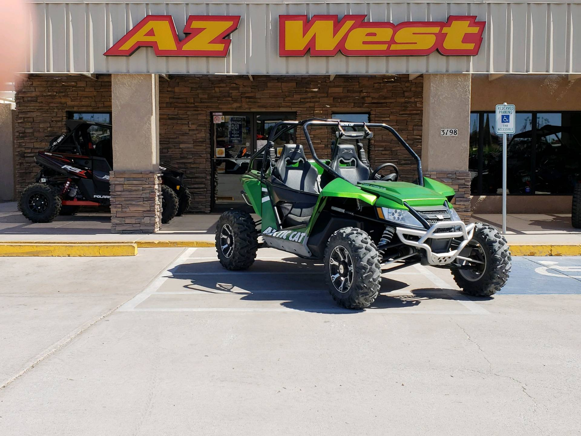 2012 Arctic Cat Wildcat™ 1000i H.O. in Lake Havasu City, Arizona