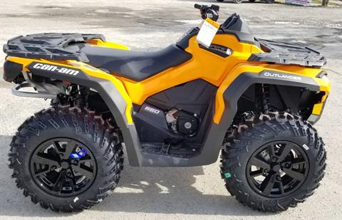 2020 Can-Am Outlander DPS 650 in Cambridge, Ohio - Photo 5