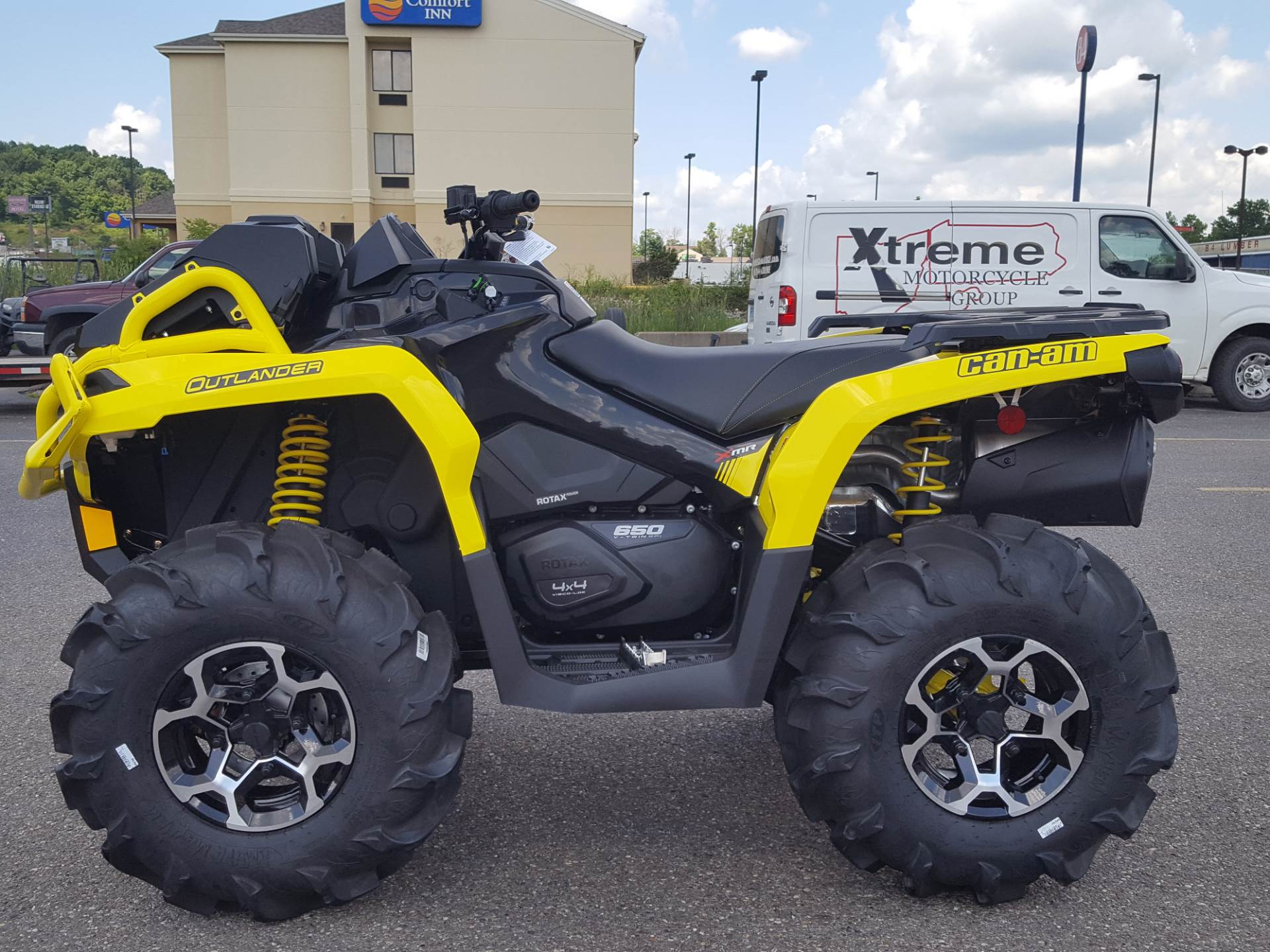 used 2019 can am outlander x mr 650 atvs in cambridge oh. Black Bedroom Furniture Sets. Home Design Ideas