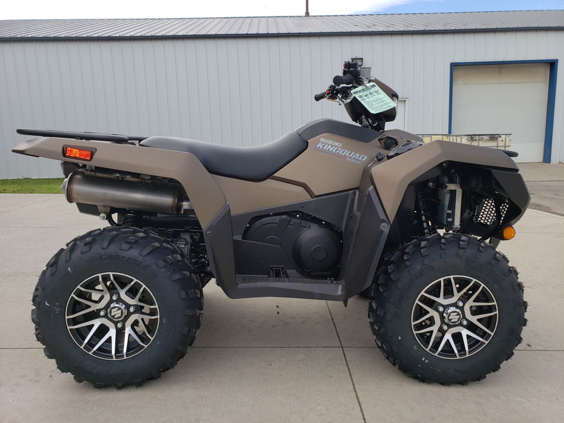 2019 Suzuki KingQuad 500AXi Power Steering SE+ in Cambridge, Ohio - Photo 1