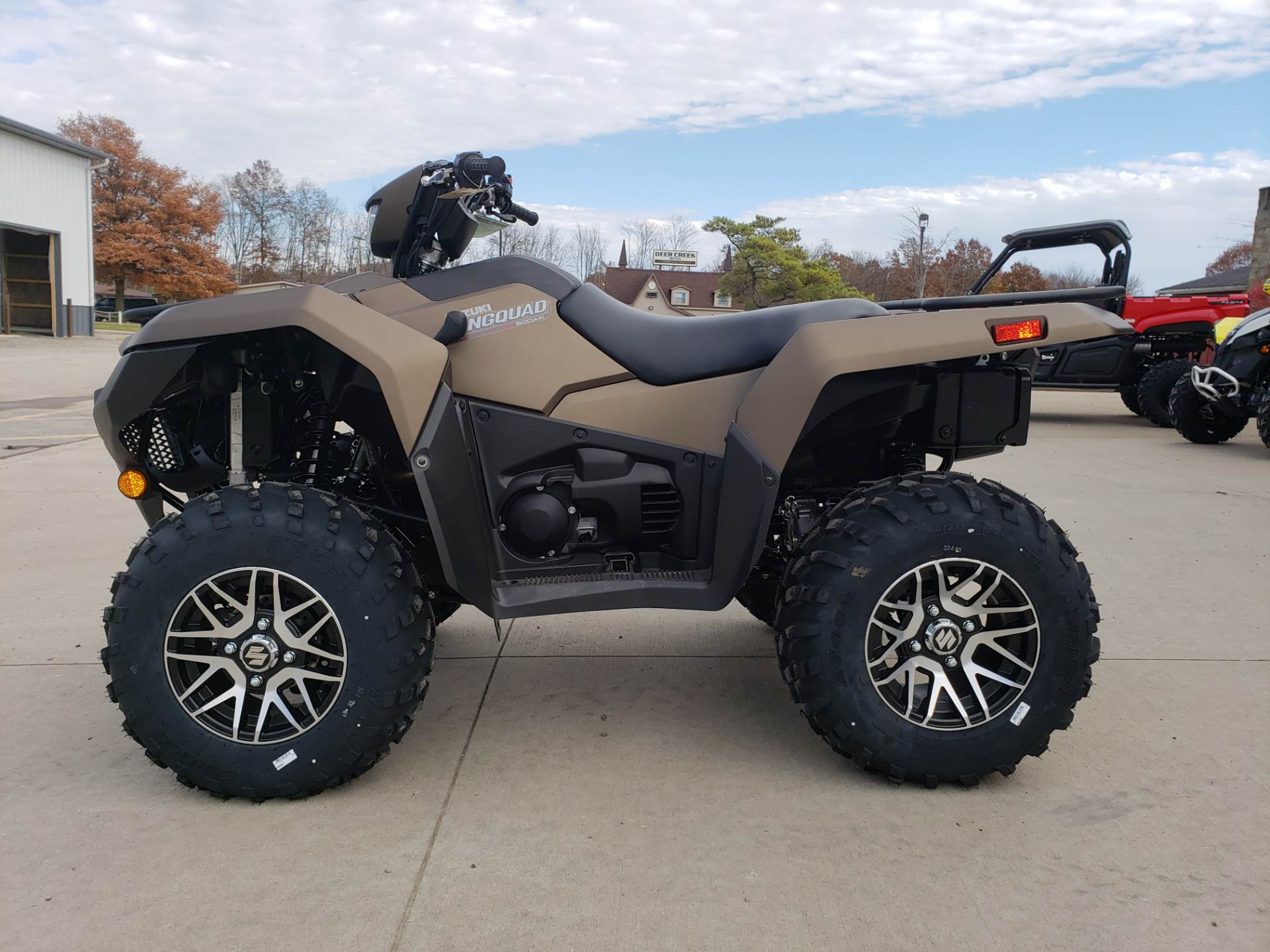 2019 Suzuki KingQuad 500AXi Power Steering SE+ in Cambridge, Ohio - Photo 5