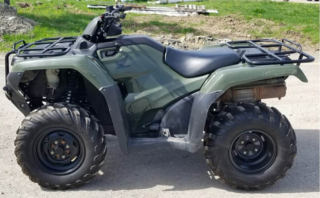2017 Honda FourTrax Rancher 4x4 in Cambridge, Ohio - Photo 6