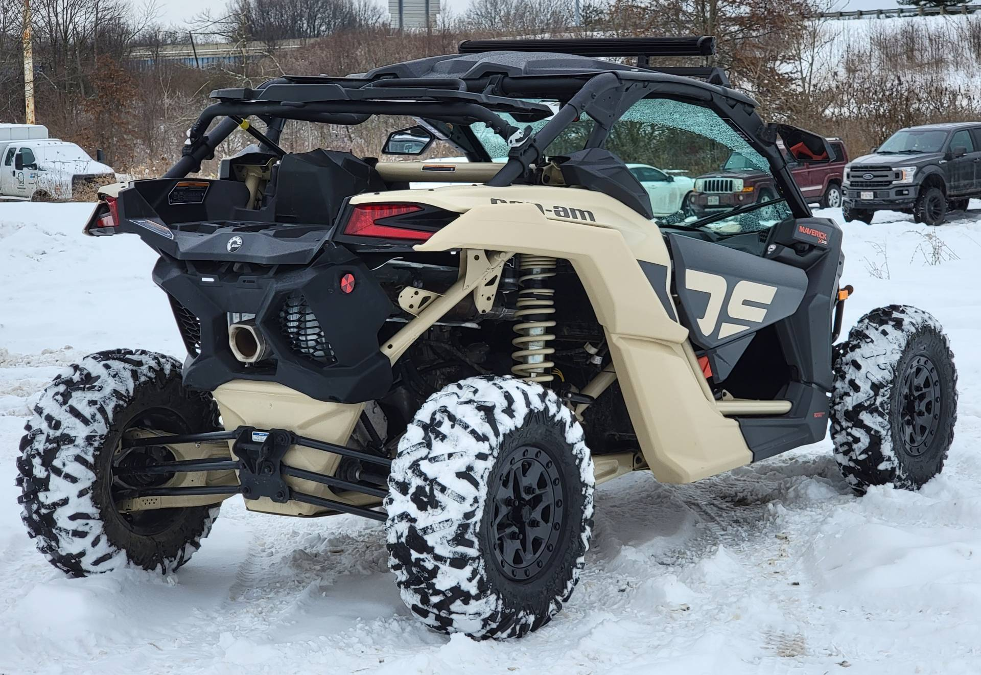 2021 Can-Am Maverick X3 X DS Turbo RR in Cambridge, Ohio - Photo 3