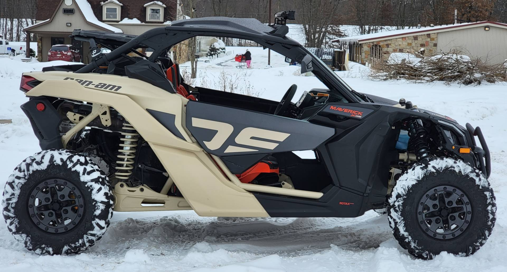 2021 Can-Am Maverick X3 X DS Turbo RR in Cambridge, Ohio - Photo 4