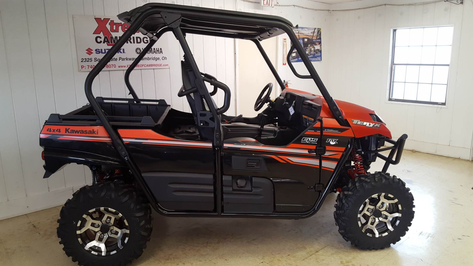 2017 kawasaki teryx le utility vehicles cambridge ohio n/a