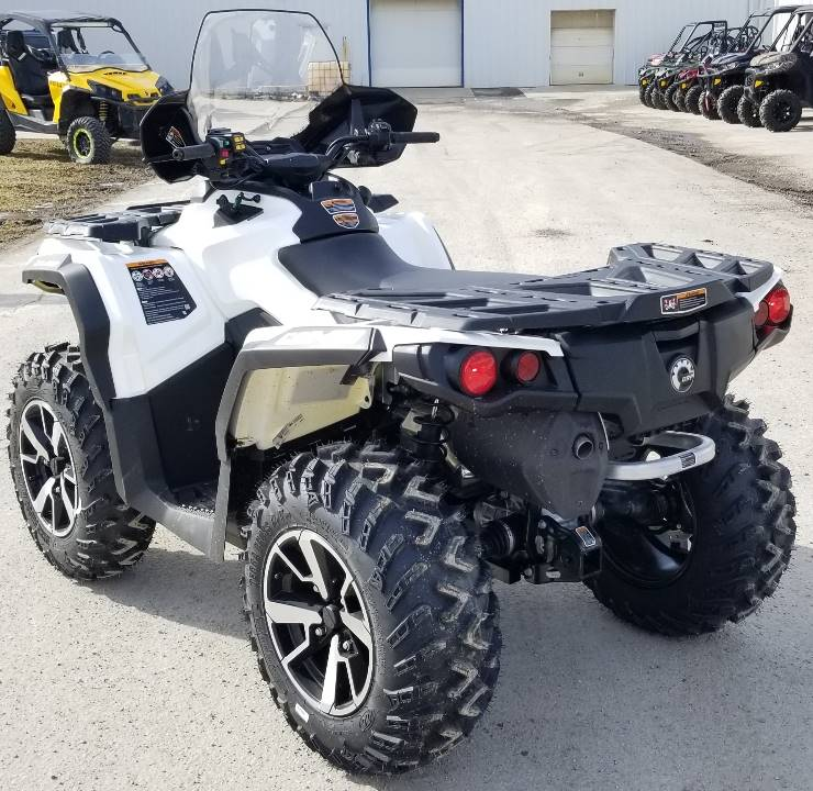 2020 Can-Am Outlander North Edition 850 in Cambridge, Ohio - Photo 4