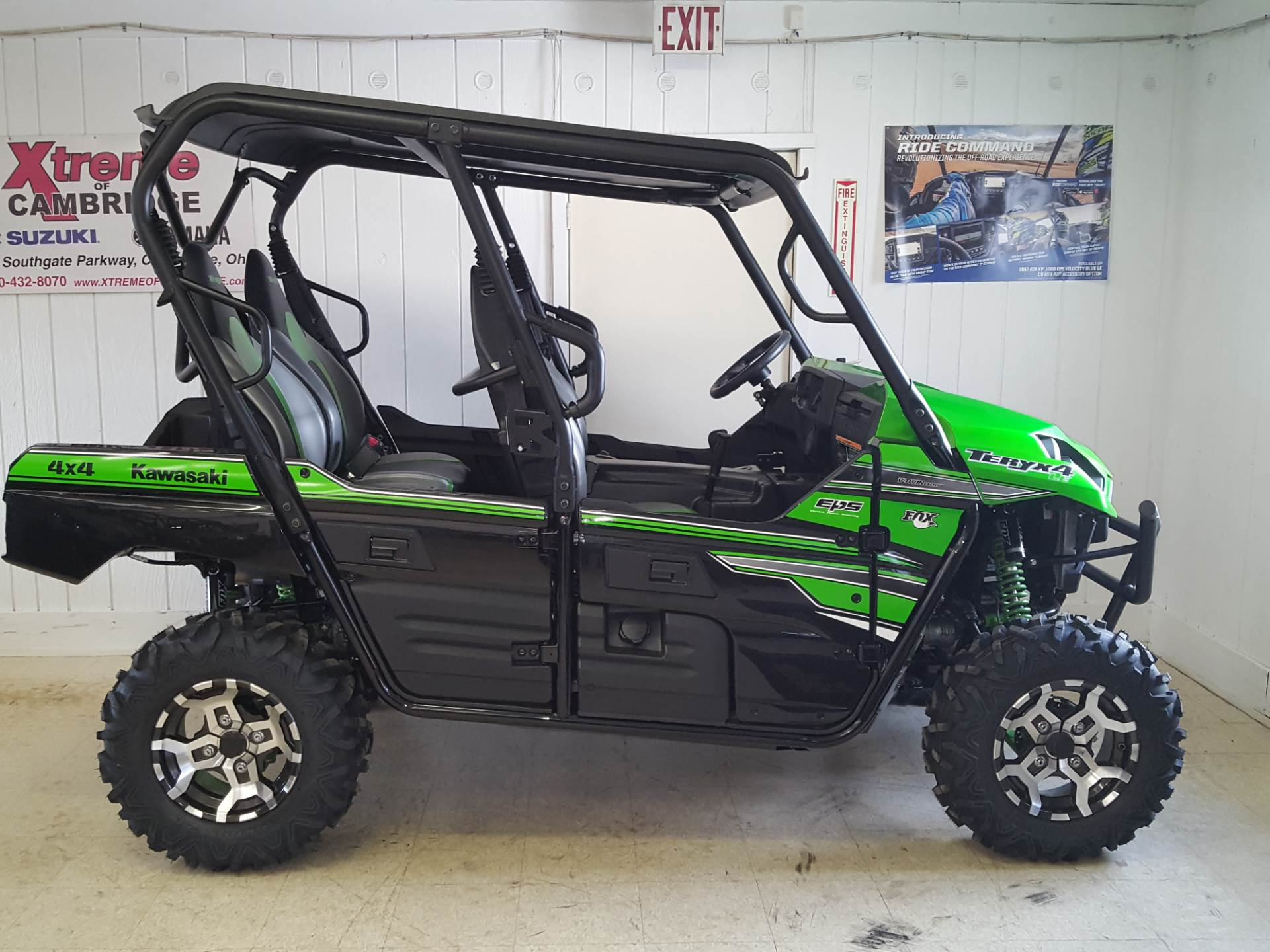 2018 Kawasaki Teryx4 LE in Cambridge, Ohio