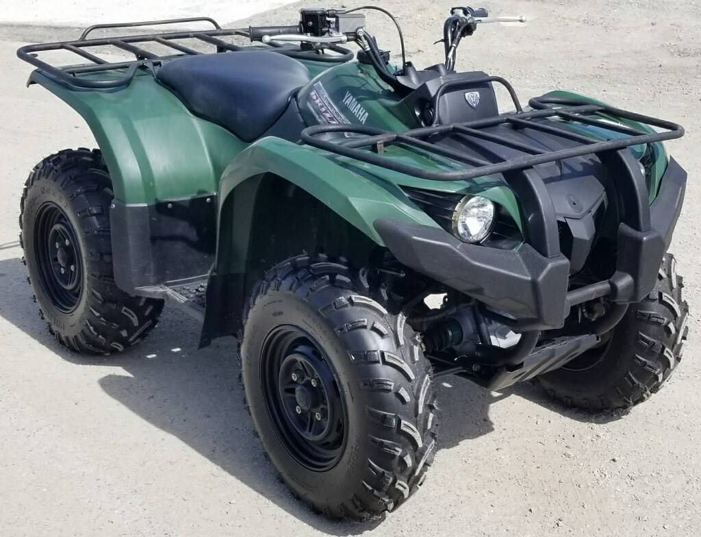 2012 Yamaha Grizzly 450 Auto. 4x4 in Cambridge, Ohio - Photo 1