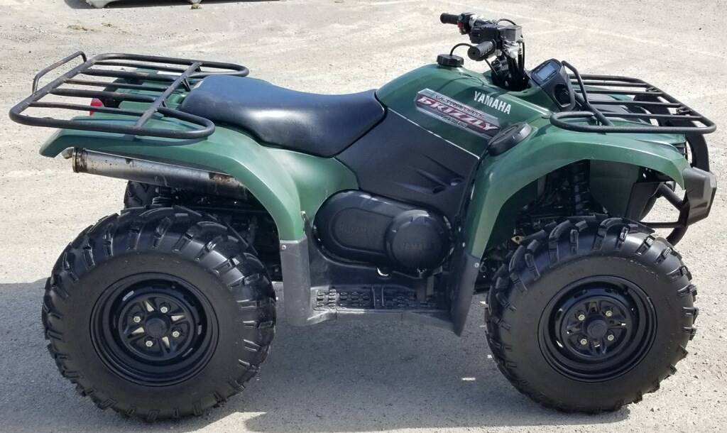 2012 Yamaha Grizzly 450 Auto. 4x4 in Cambridge, Ohio - Photo 3