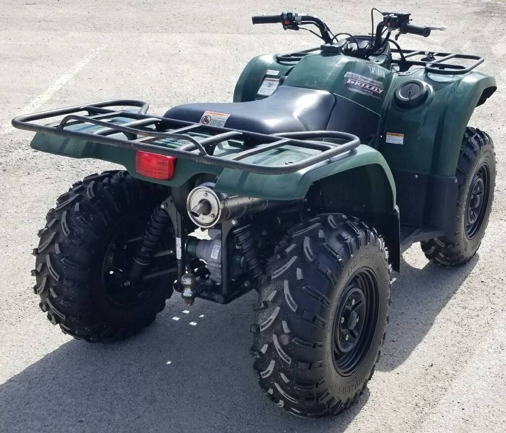 2012 Yamaha Grizzly 450 Auto. 4x4 in Cambridge, Ohio - Photo 5