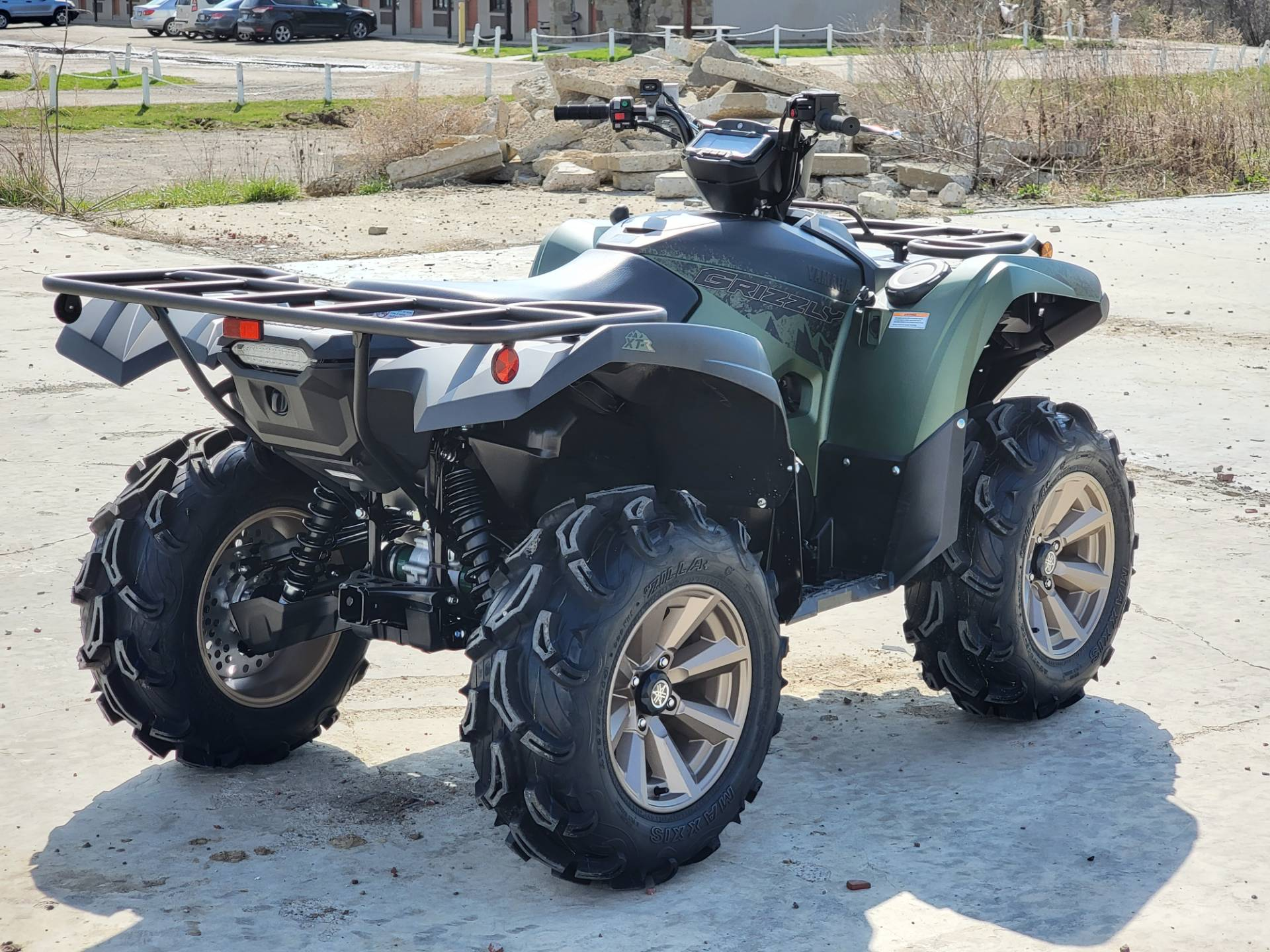 2021 Yamaha Grizzly EPS XT-R in Cambridge, Ohio - Photo 6