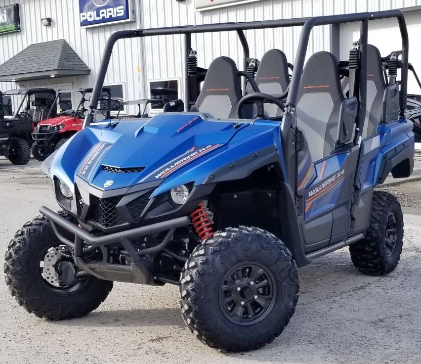 2019 Yamaha Wolverine X4 SE in Cambridge, Ohio - Photo 2