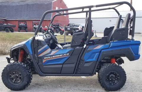2019 Yamaha Wolverine X4 SE in Cambridge, Ohio - Photo 3