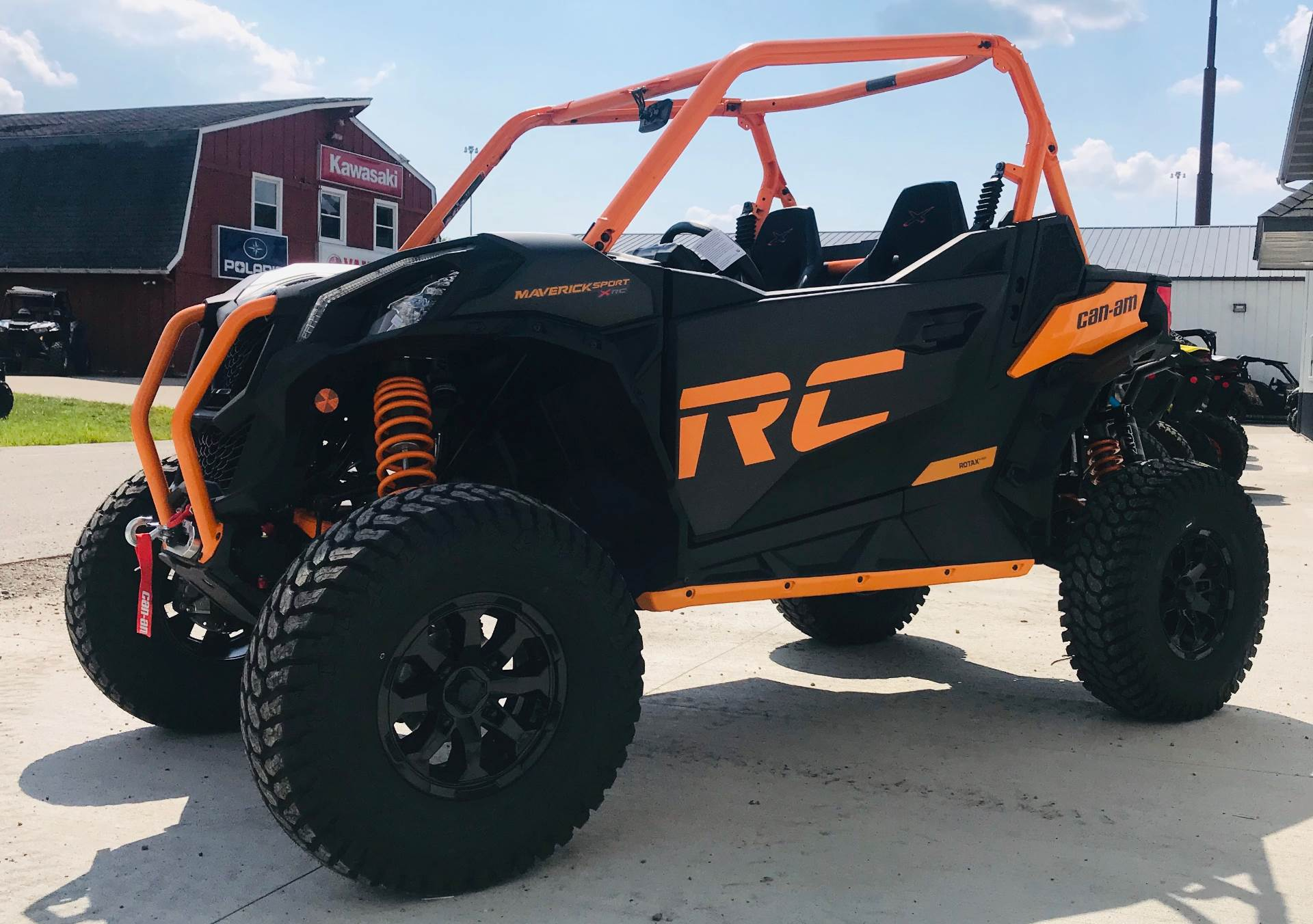 2020 Can-Am Maverick Sport X RC 1000R in Cambridge, Ohio - Photo 6