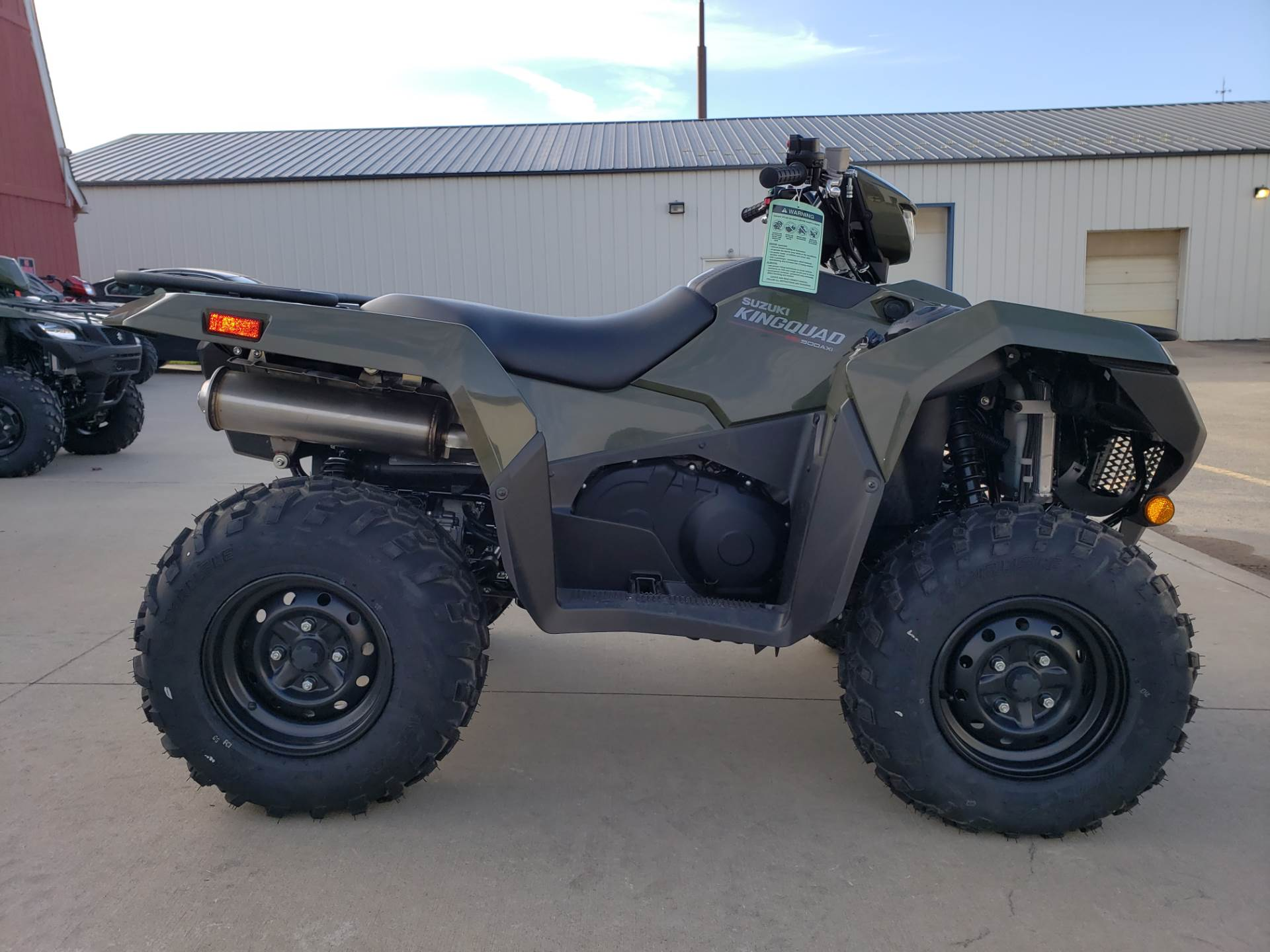 2019 Suzuki KingQuad 500AXi Power Steering 1