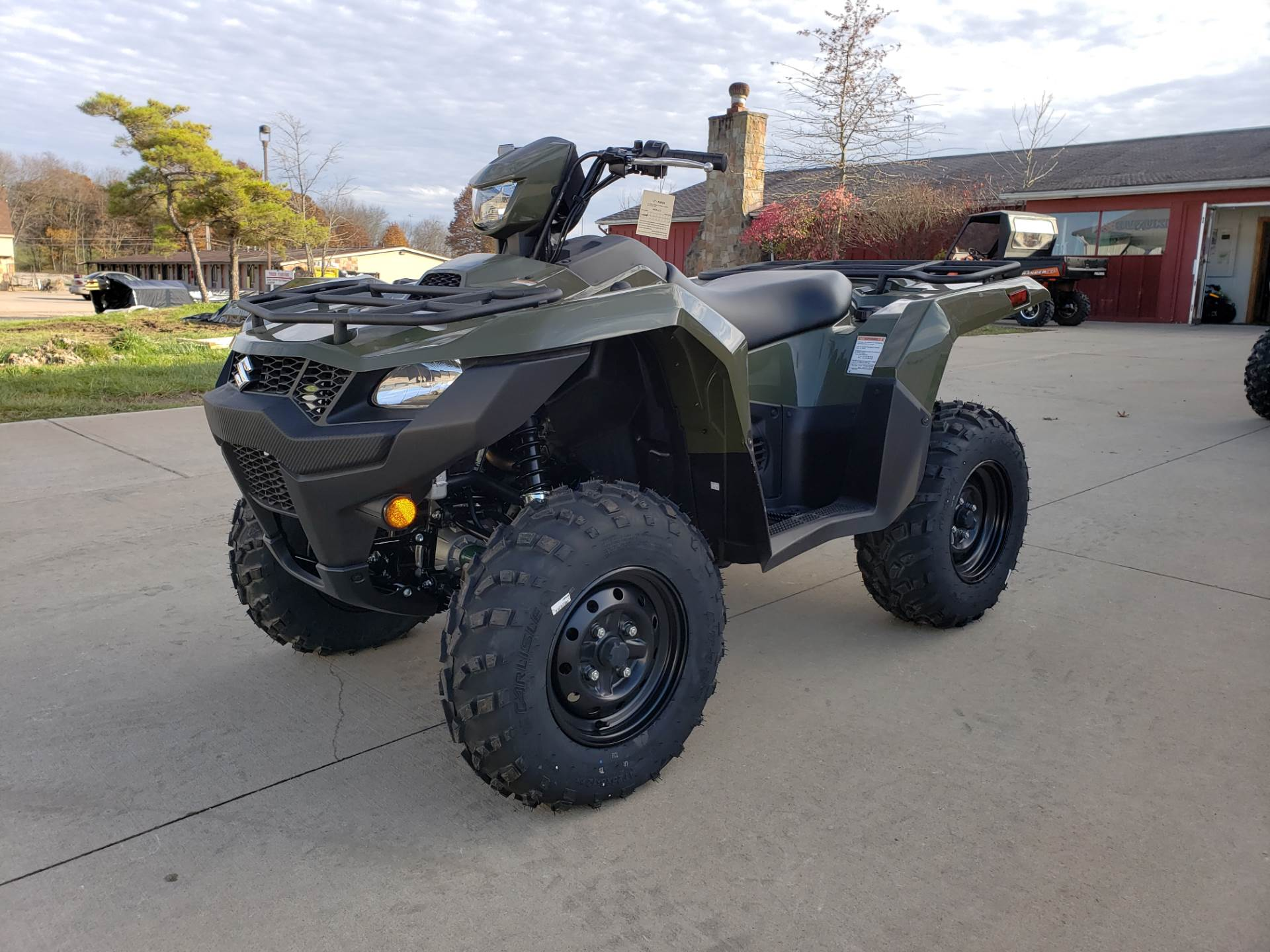 2019 Suzuki KingQuad 500AXi Power Steering 4