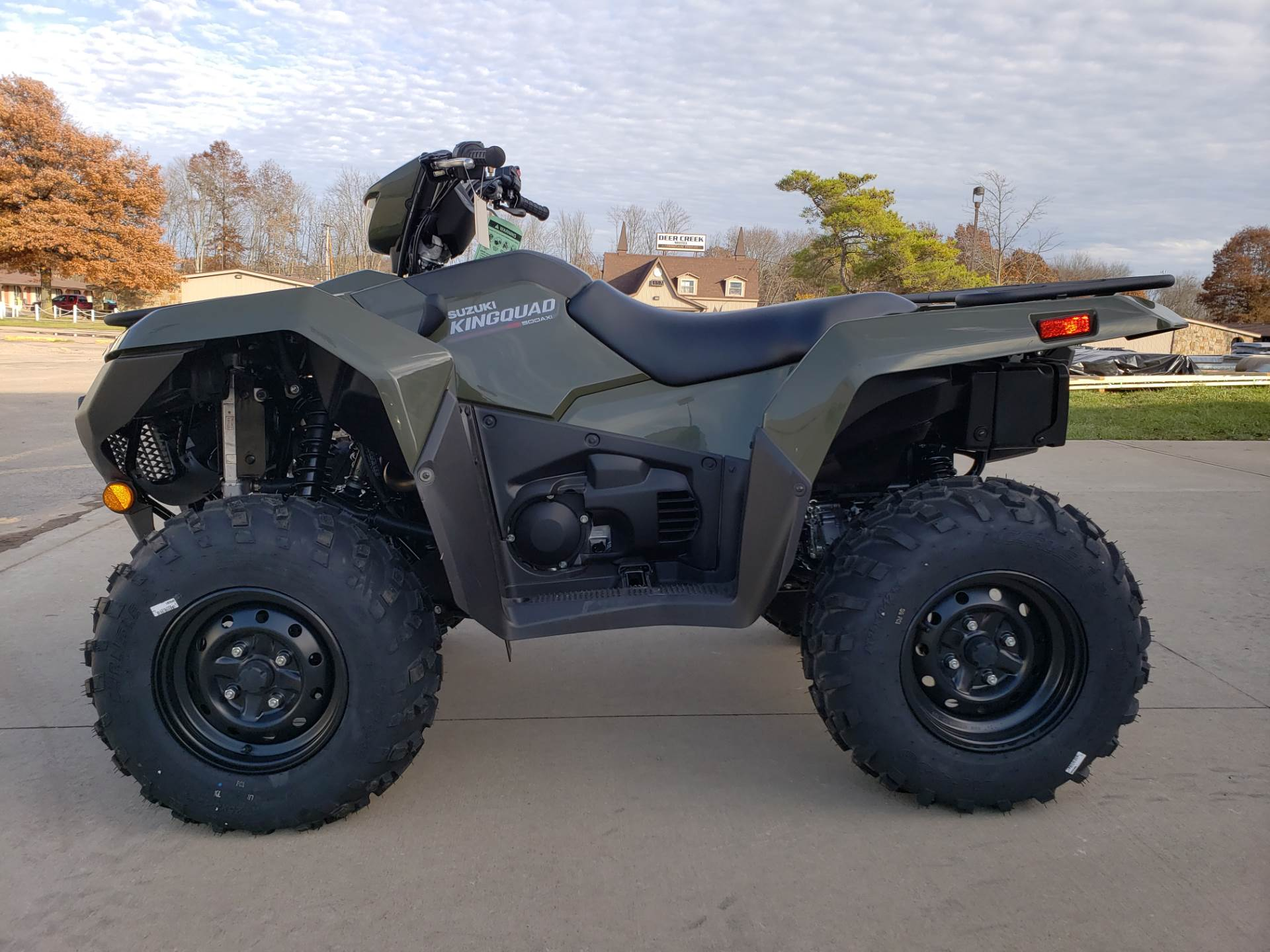2019 Suzuki KingQuad 500AXi Power Steering 5