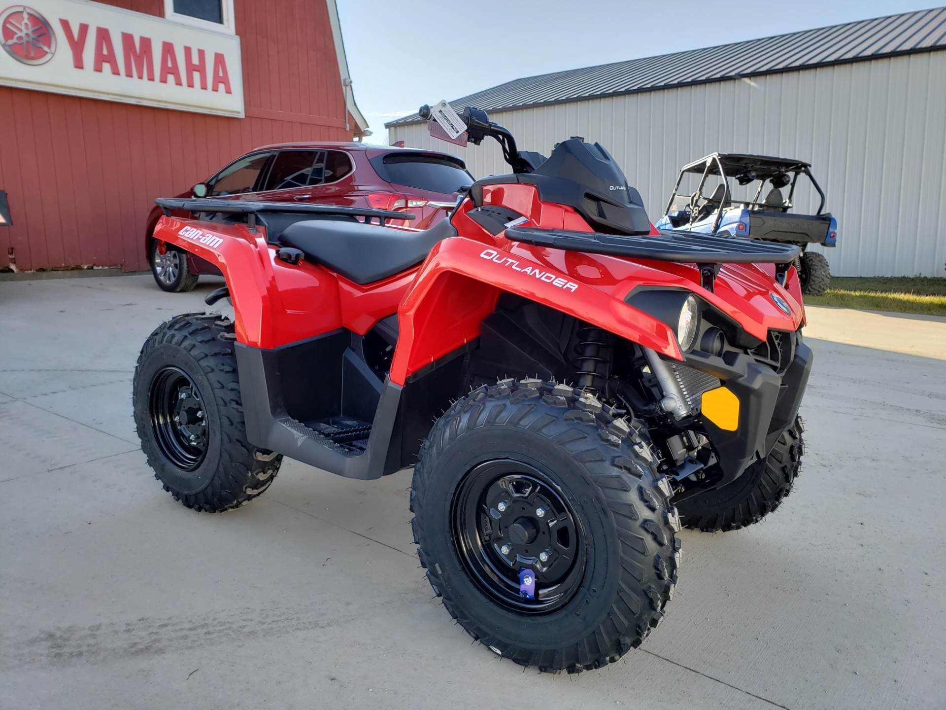 used 2019 can am outlander 450 atvs in cambridge oh. Black Bedroom Furniture Sets. Home Design Ideas
