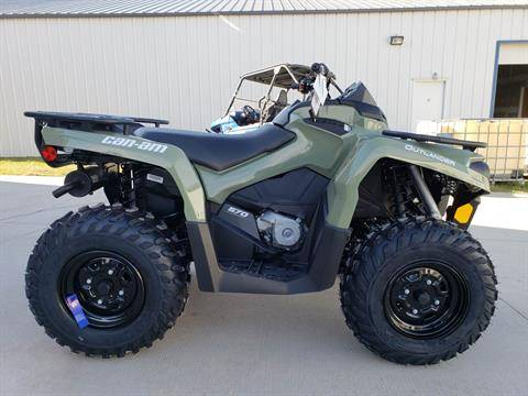 2020 Can-Am Outlander DPS 570 in Cambridge, Ohio - Photo 1
