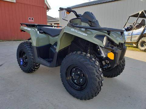 2020 Can-Am Outlander DPS 570 in Cambridge, Ohio - Photo 2