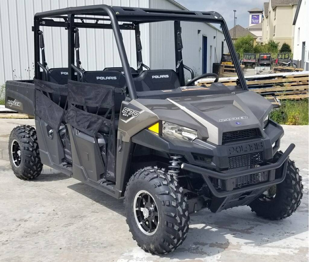 2021 Polaris Ranger Crew 570 Premium in Cambridge, Ohio - Photo 1