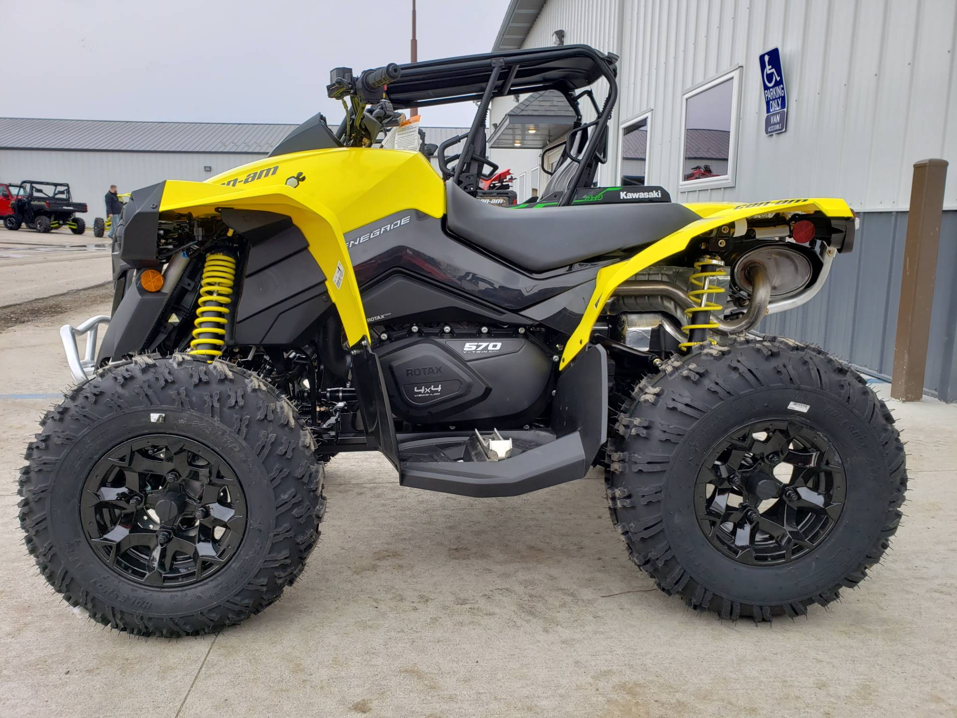 2020 Can-Am Renegade 570 in Cambridge, Ohio - Photo 5