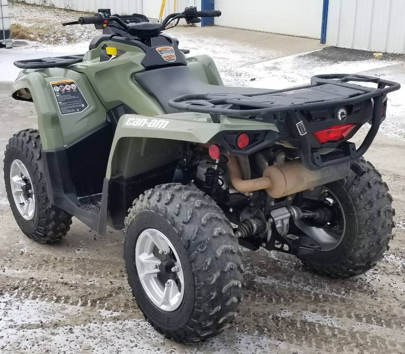 2020 Can-Am Outlander DPS 450 in Cambridge, Ohio - Photo 3
