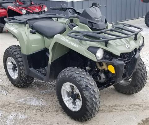 2020 Can-Am Outlander DPS 450 in Cambridge, Ohio - Photo 6