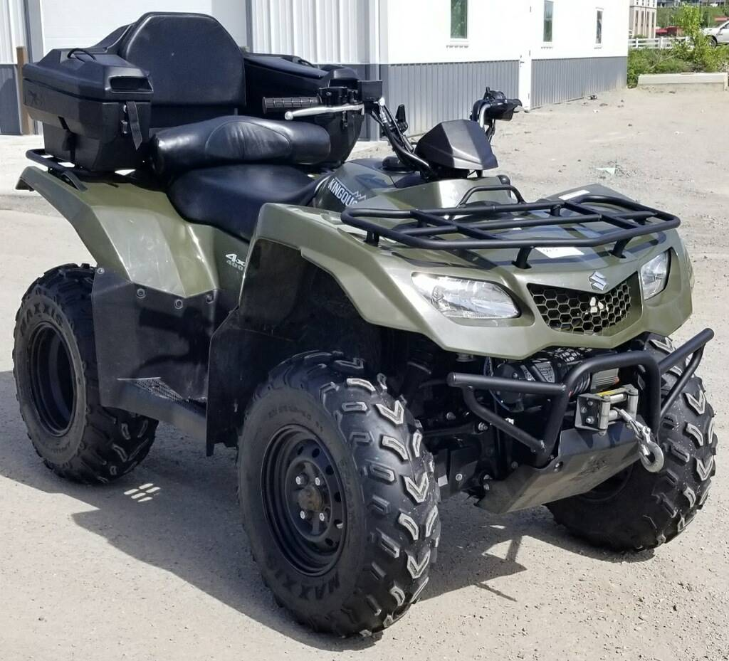 2015 Suzuki KingQuad 400FSi in Cambridge, Ohio - Photo 1