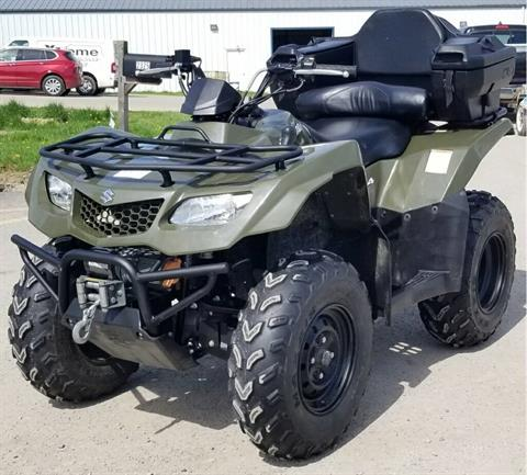 2015 Suzuki KingQuad 400FSi in Cambridge, Ohio - Photo 2